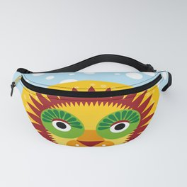 Funny lion Fanny Pack