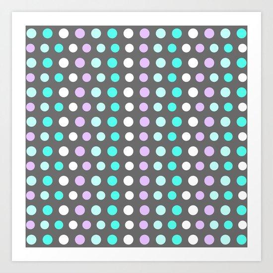 Polka Dots #2 Art Print