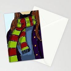 The Scarf Stationery Cards