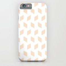 rhombus bomb in linen iPhone 6s Slim Case