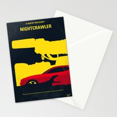 No794 My Nightcrawler minimal movie poster Stationery Cards