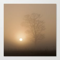 Sunrise over Wramplingham, Norfolk Canvas Print