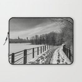 Arriving to Ottawa Laptop Sleeve