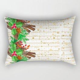 Christmas pine cones #3 Rectangular Pillow