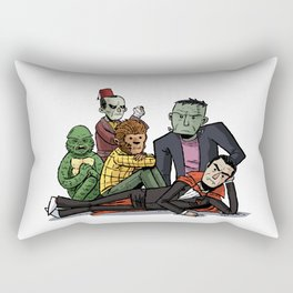 The Universal Monster Club Rectangular Pillow