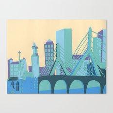 Zakim Bridge Canvas Print
