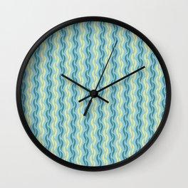 Silken Serpentine Stripes Wall Clock