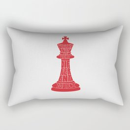 We Are Not So Very Different -Tinker Tailor Soldier Spy Rectangular Pillow