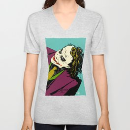 Joker So Serious Unisex V-Neck
