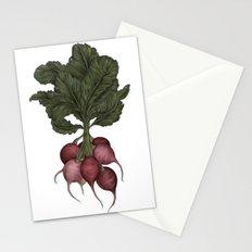 Radishes Stationery Cards