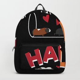Happy Pills Guinea Pig Backpack