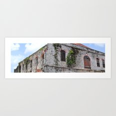 The Old Marketplace Art Print