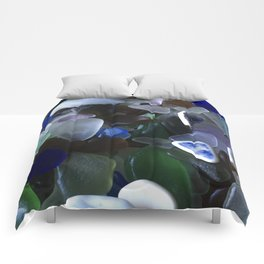 Sea Glass Assortment 4 Comforters