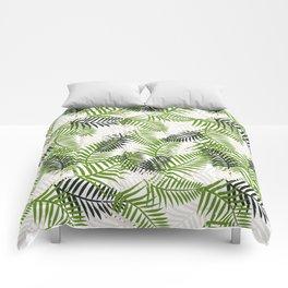 Light Ferns Comforters