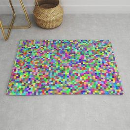 Abstract Pixels RGB Rug
