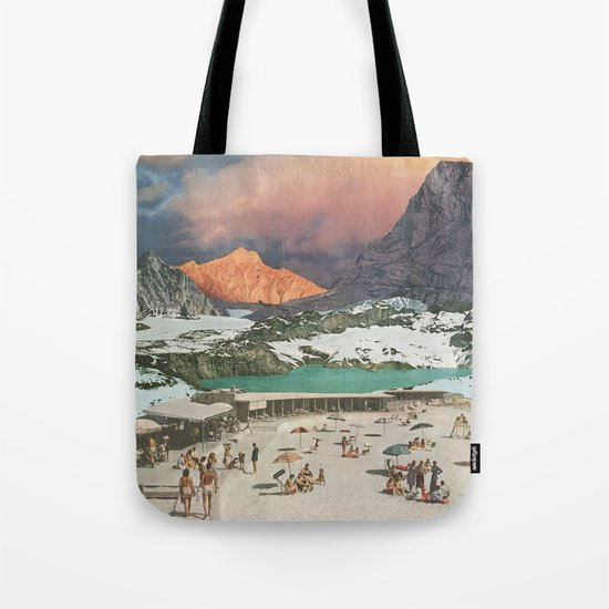 Jade Lake Resort Tote Bag