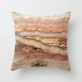 Mystic Stone Throw Pillow