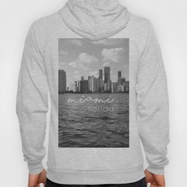 I'm in Miami - Black and white Hoody