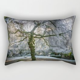 Frost in Tipperary Park Rectangular Pillow