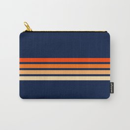 Retro 4 Thin Stripes Carry-All Pouch
