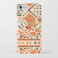 Orange poem Slim Case iPhone 7