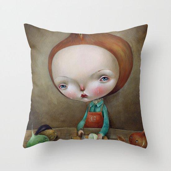 Cippolino Throw Pillow