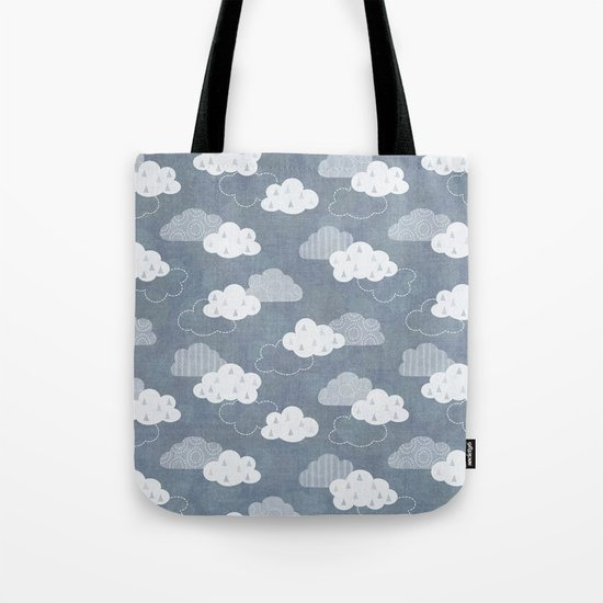 RAIN CLOUDS Tote Bag