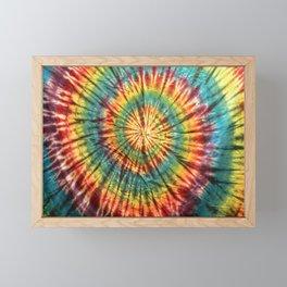 Tie Dye 19 Framed Mini Art Print