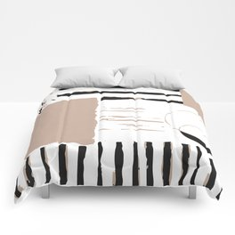 Stripes in diffrent. Comforters