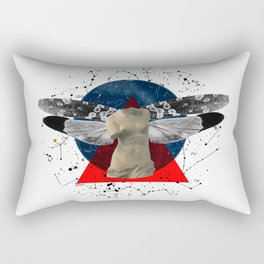 Wonder Wood Dream Mountains - The Demon Cleaner Series · The Lost Ghost Rectangular Pillow