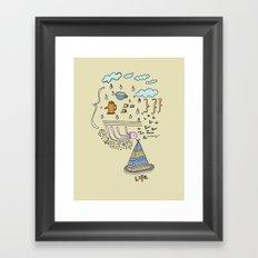 Dream Jelly Framed Art Print