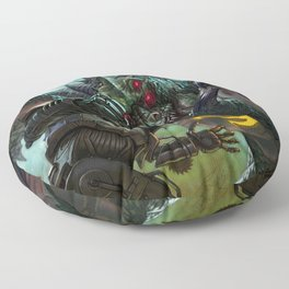 Tokyo Raiders Floor Pillow