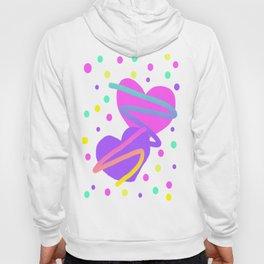 Confetti Hearts Hoody