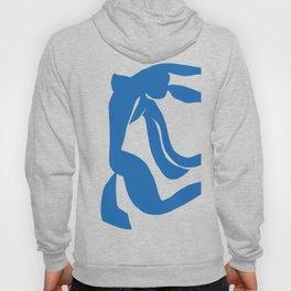 Matisse Cut Out Figure #4 Light Blue Hoody