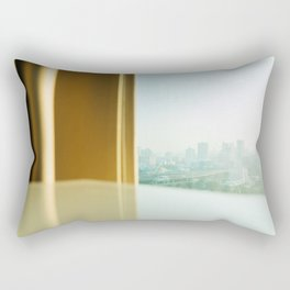 Beautiful view from my condo Rectangular Pillow