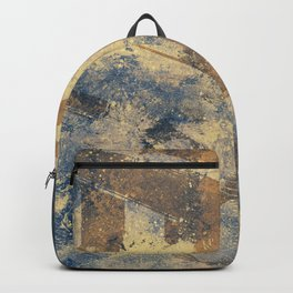 The Poacher's Eve | female nude graffiti painting Backpack
