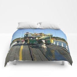 Horse driven Tram Comforters