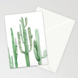 Three Amigos White + Green by Nature Magick Stationery Cards