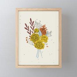 Season's End Blooms Framed Mini Art Print