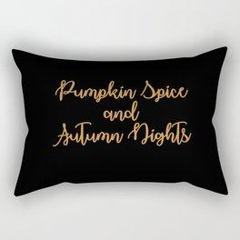 Autumn Nights Rectangular Pillow