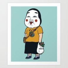 Joyful Girl Art Print