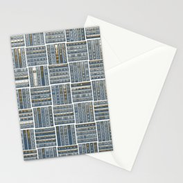 The Bookish Checkerboard Stationery Cards