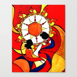 Sunset on This Day Canvas Print