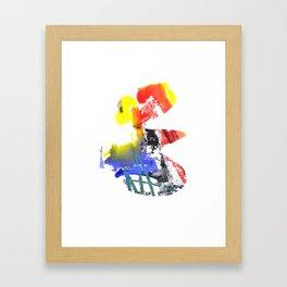 Funny Framed Art Print