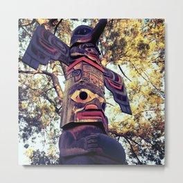 Knott's Berry Farm's Totem Pole Metal Print