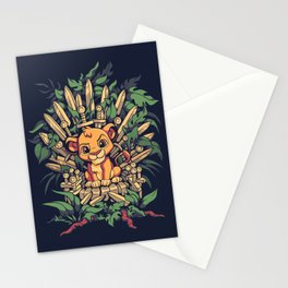 The True King Stationery Cards