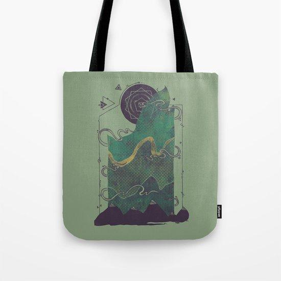 Northern Nightsky Tote Bag