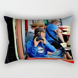 Smile! Rectangular Pillow