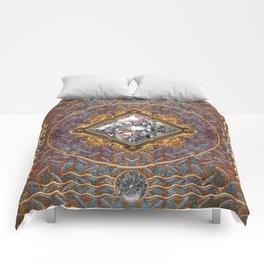 Diamond Cut Steel Comforters