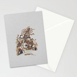 Crazy Car Art 0124 Stationery Cards